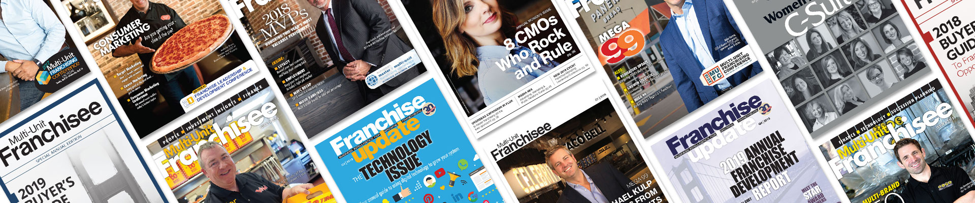 Franchise Update Media - Print - Magazines